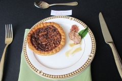 Plated Homemade Pecan Pie