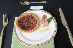 Plated Homemade Pecan Pie