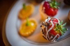 Chocolate Dipped Strawberries & Lemon Tartlets