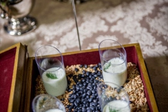 Chilled Cucumber-Dill Soup Shooters