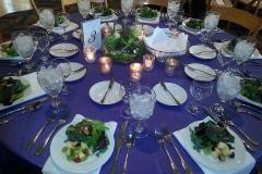 Plated Dinner, Pre-set Salad