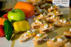 Roasted Orange Pepper Crostini