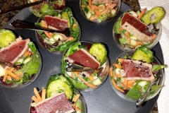 Seared Tuna Spheres