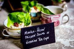 Mango-Pecan Chicken Salad Cups