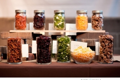 Toppings for a Mashed Potato Bar