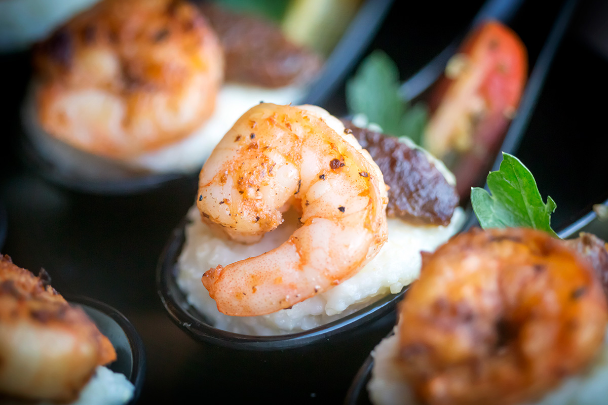 Signature Shrimp & Grit Bites