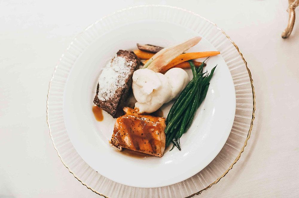 Wedding Plated Dinner